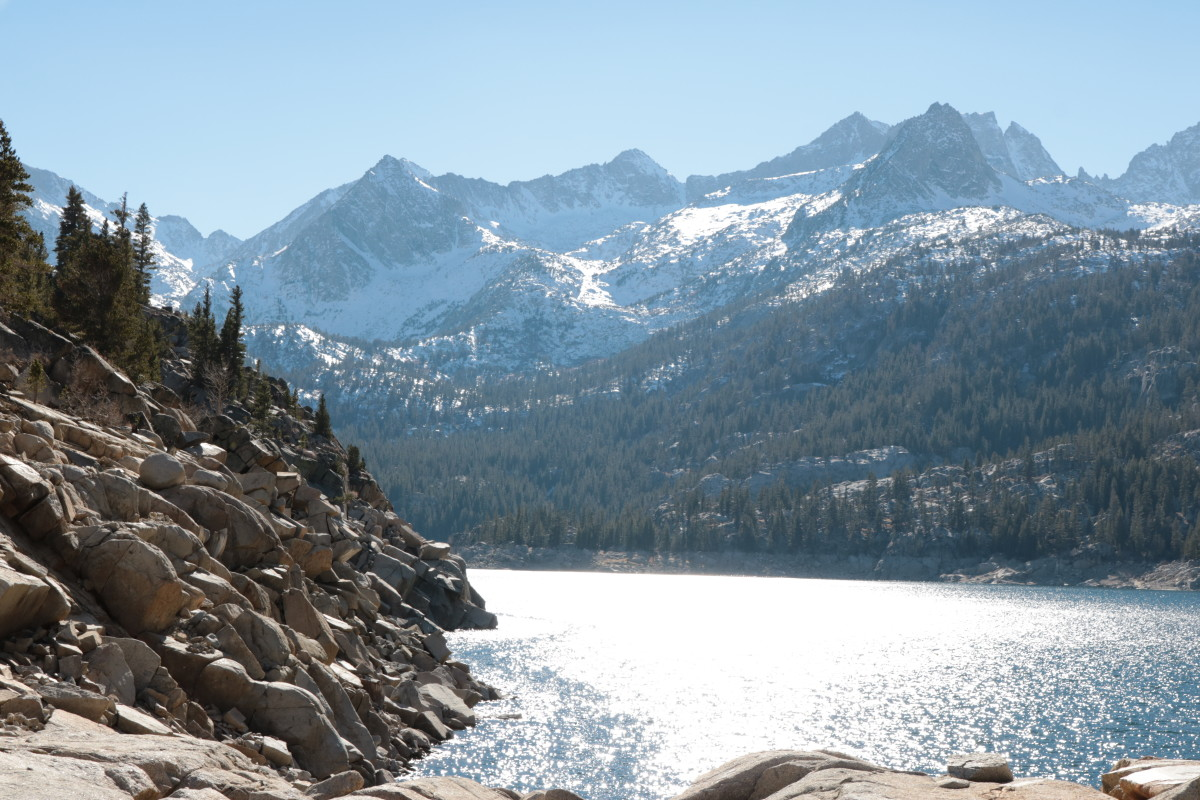 South Lake in the Inyo National Forest