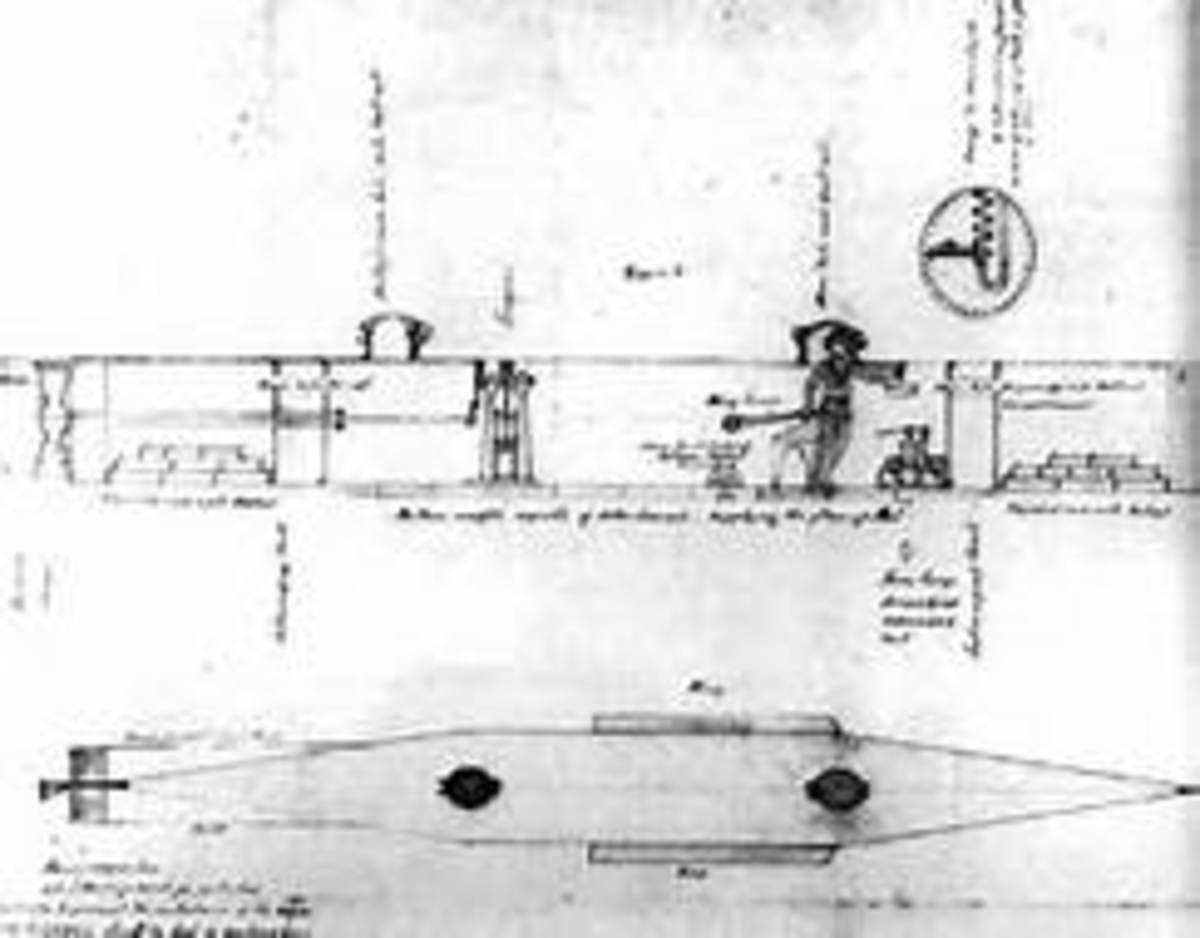 Plans for American Diver Submarine