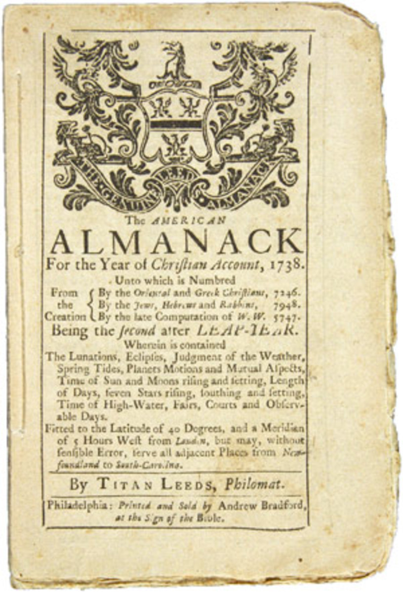 The American Almanack under Titan Leeds.