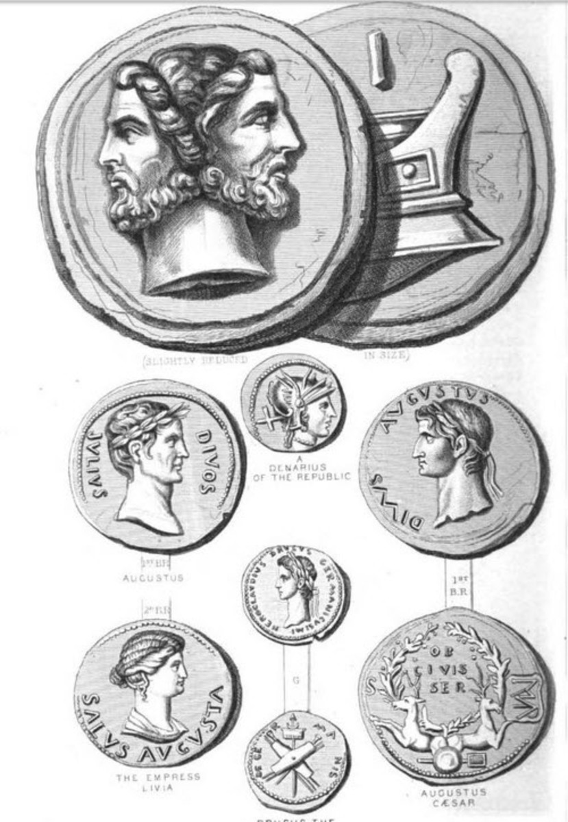 The Mysterious Finds of Roman Coins in North America