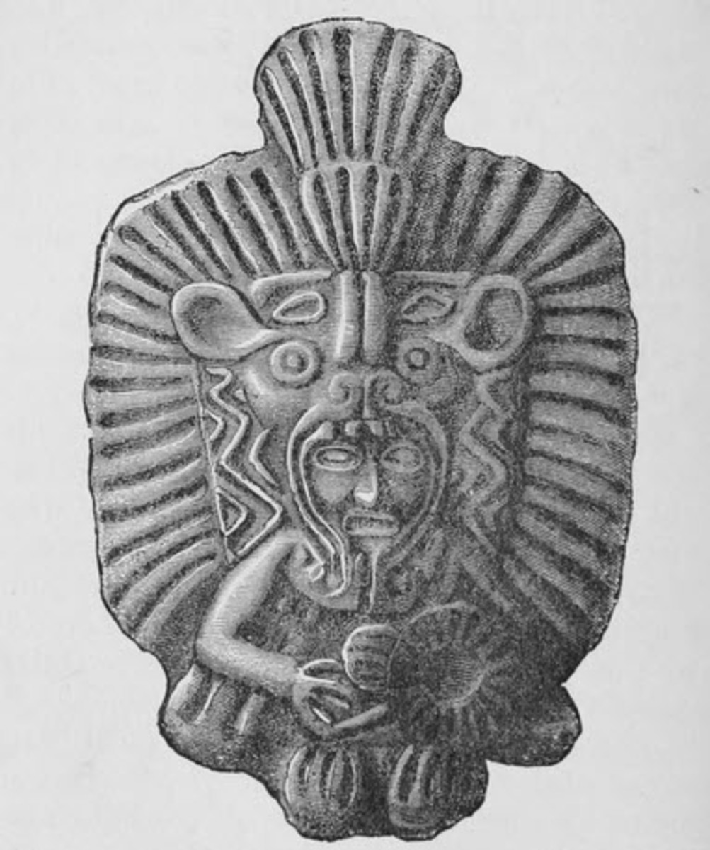 The Mysterious Visitor to the Aztec Empire