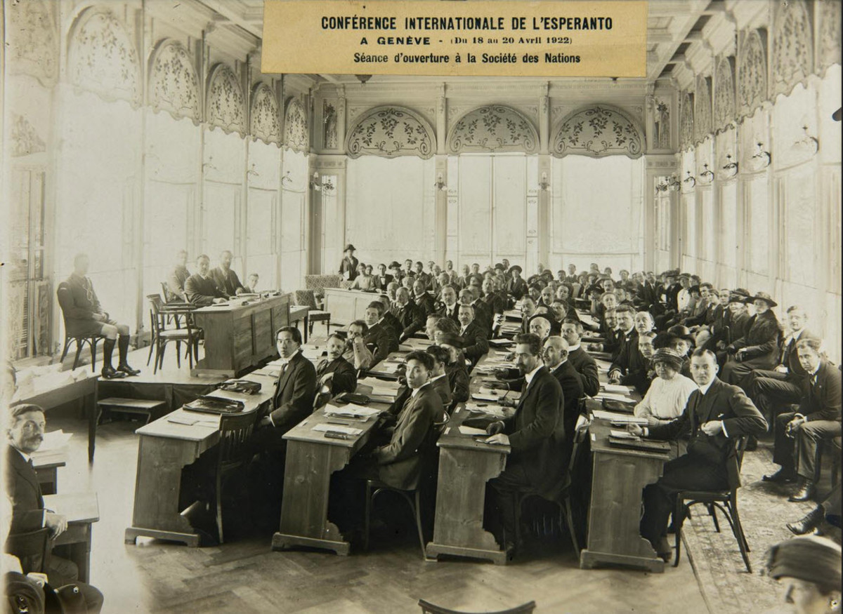 League of Nations International Conference Regarding the Use of Esperanto, 1922
