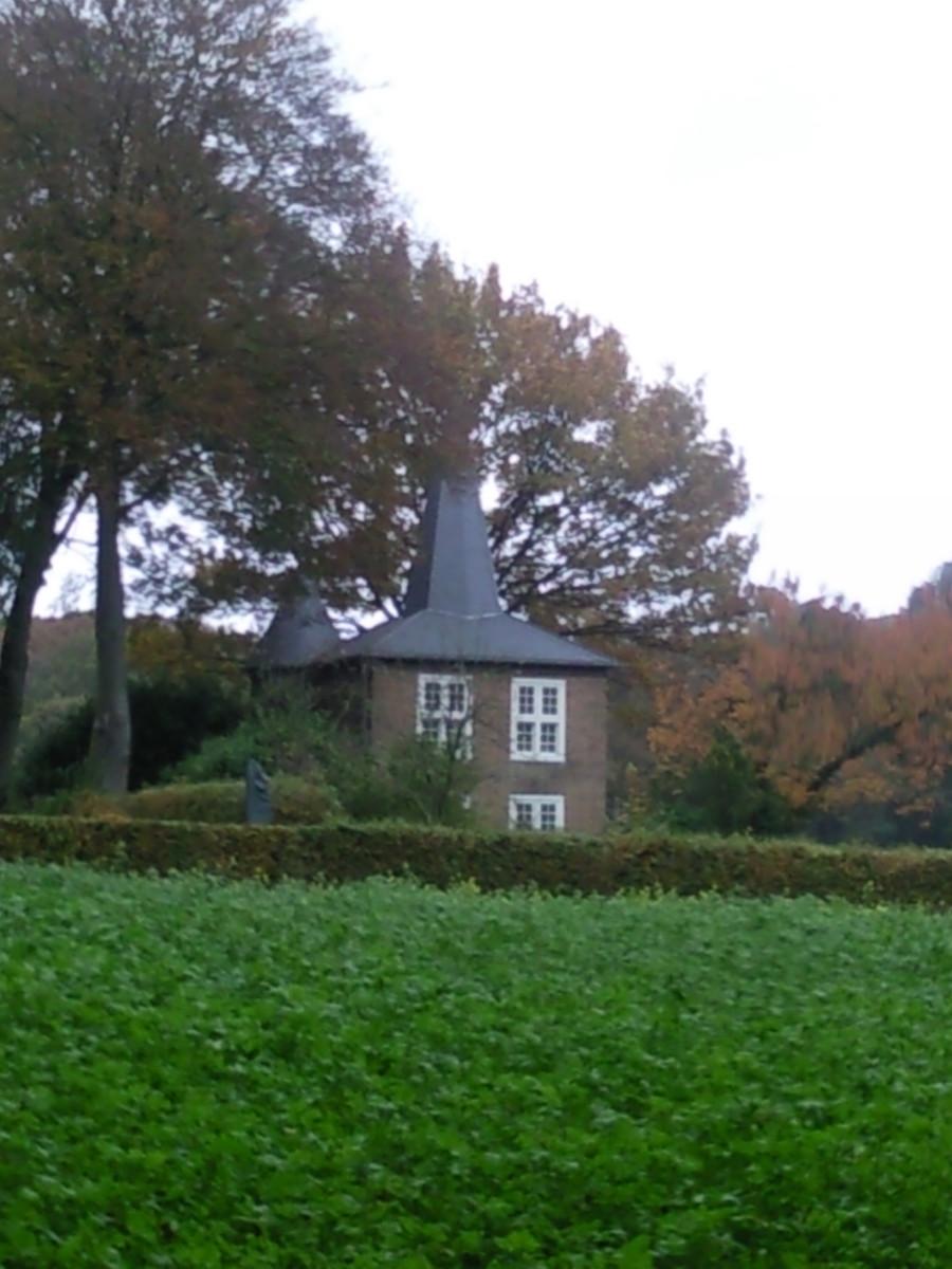 Gust van de Wall's 'castle' in Hoog Soeren