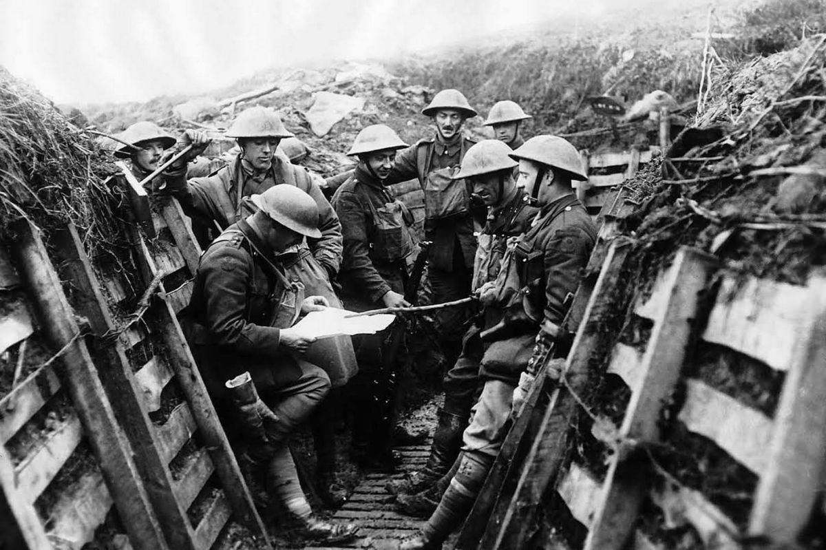 Trench Warfare: Soldiers Preparing For Their Next Assault