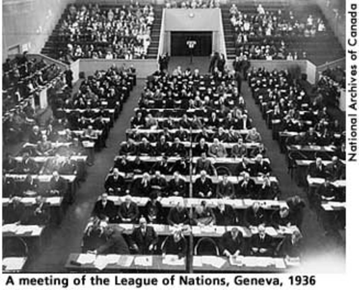 League of Nations Meeting