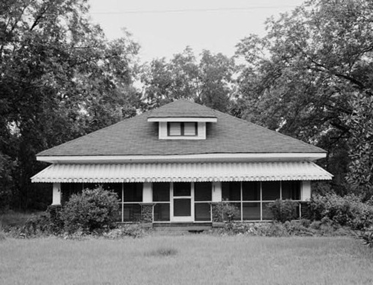 Jimmy Carter's Boyhood Home in Plains, Georgia