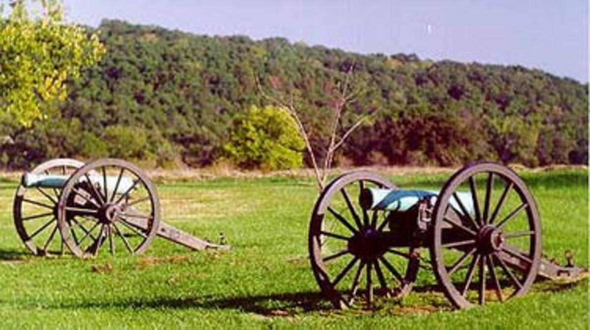 Wilson's Creek Battlefield a National Park today.