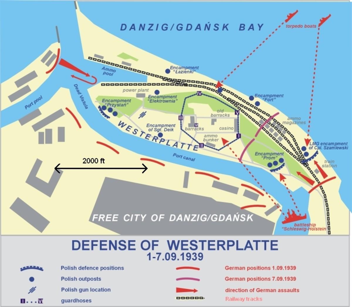 Battle of Westerplatte (September 1-7, 1939)