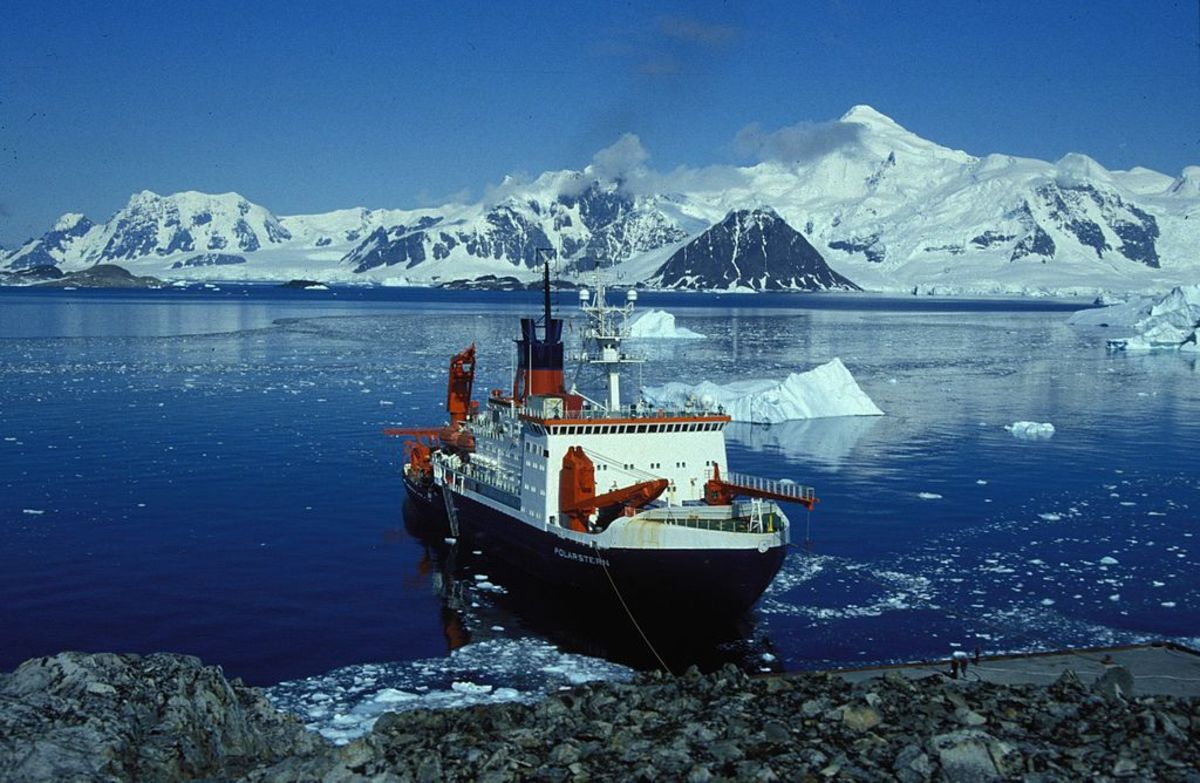 Rothera Research Station on the Antarctic Peninsula