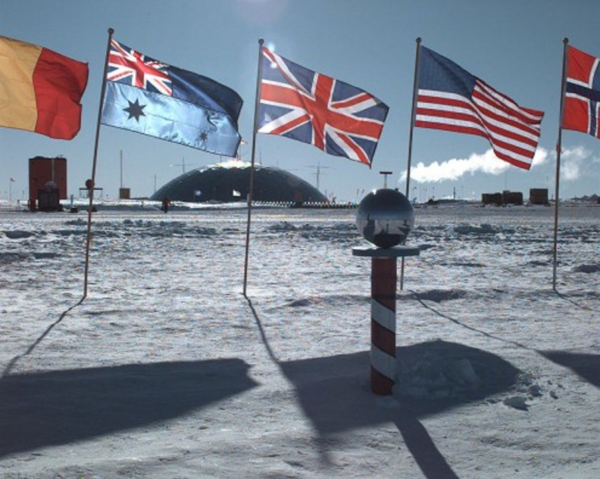View at the South Pole