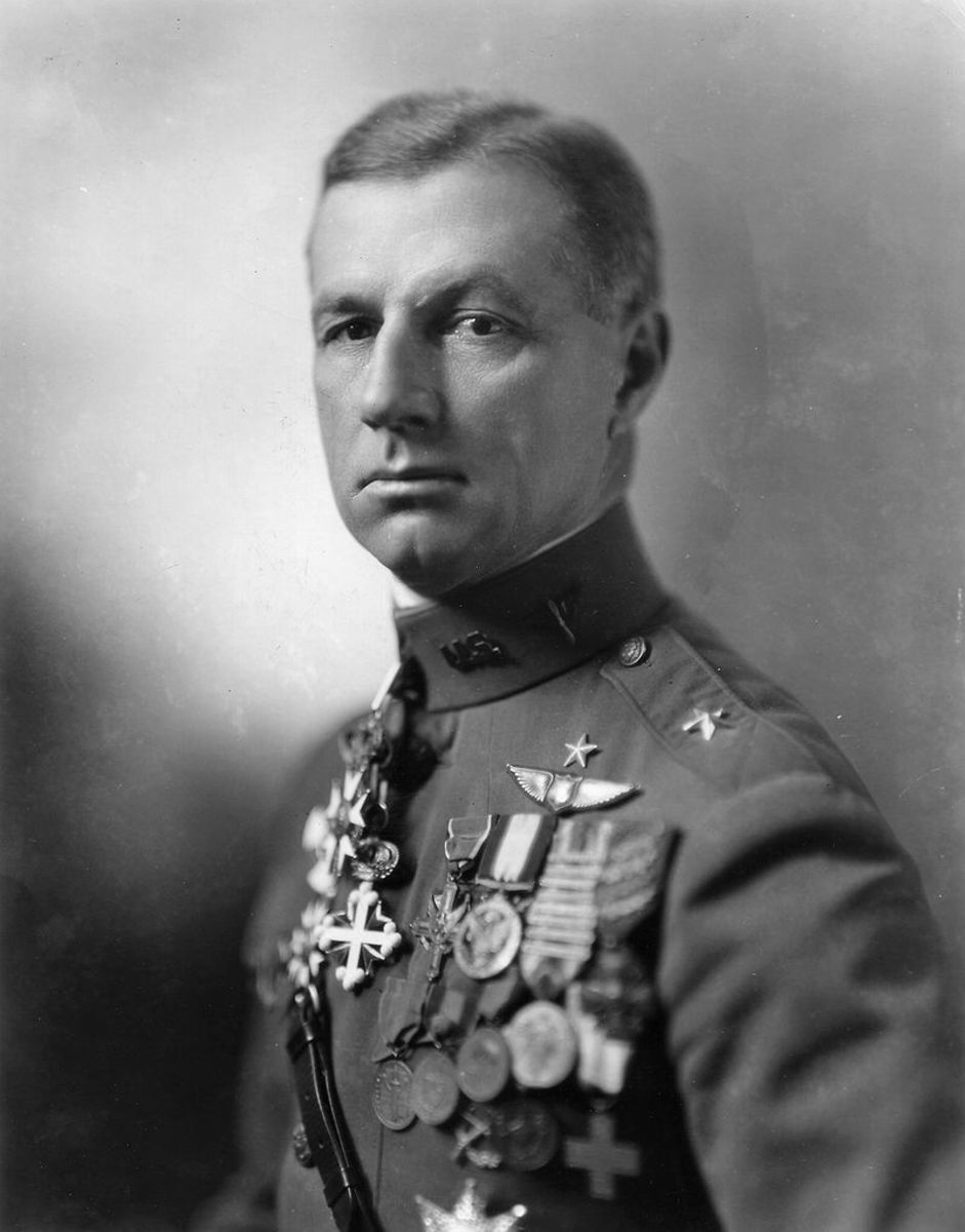 Billy Mitchell (December 29, 1879 to February 19, 1936) believed that bombing an enemy's cities was vital to winning wars in the future.