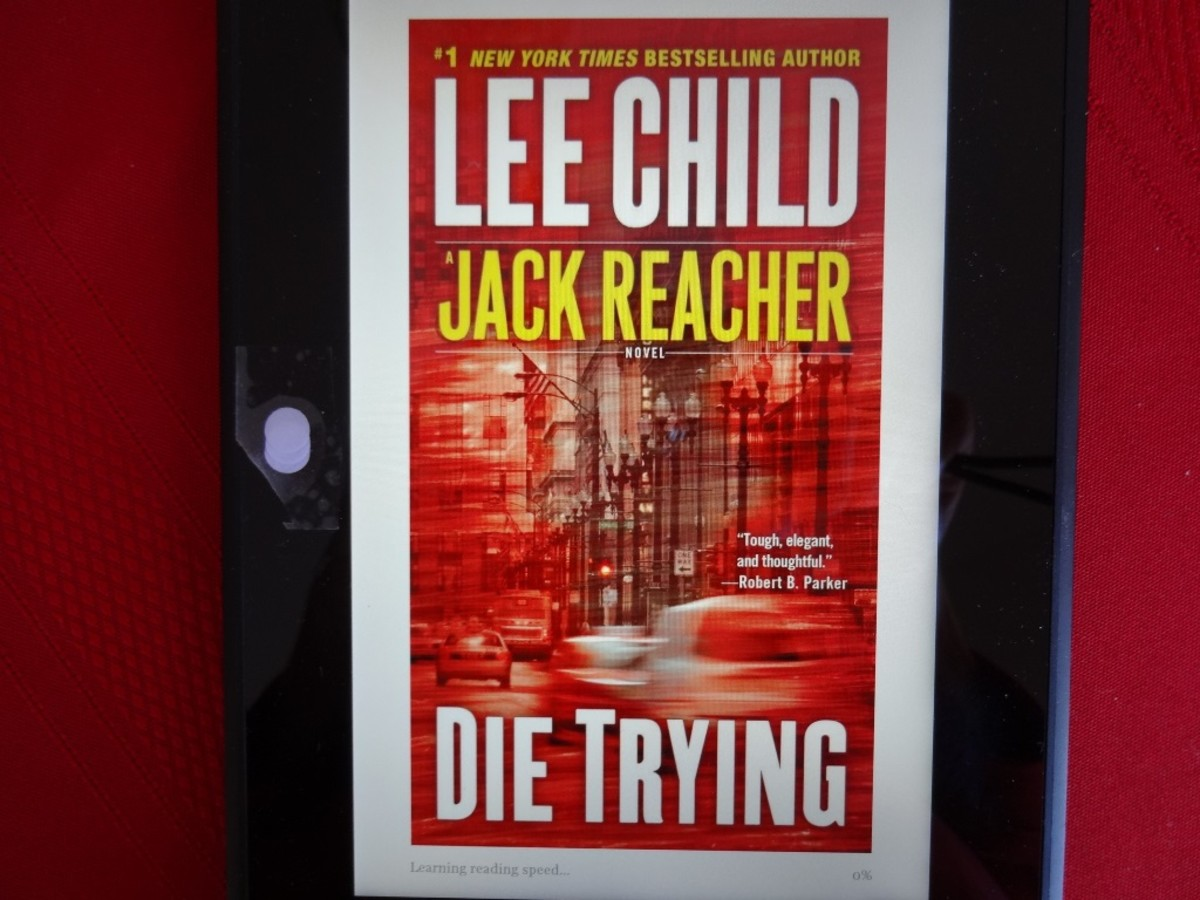 Lee Child's 3rd Jack Reacher Novel