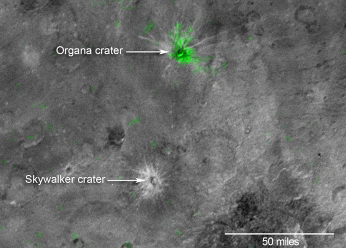 Skywalker and Organa craters.