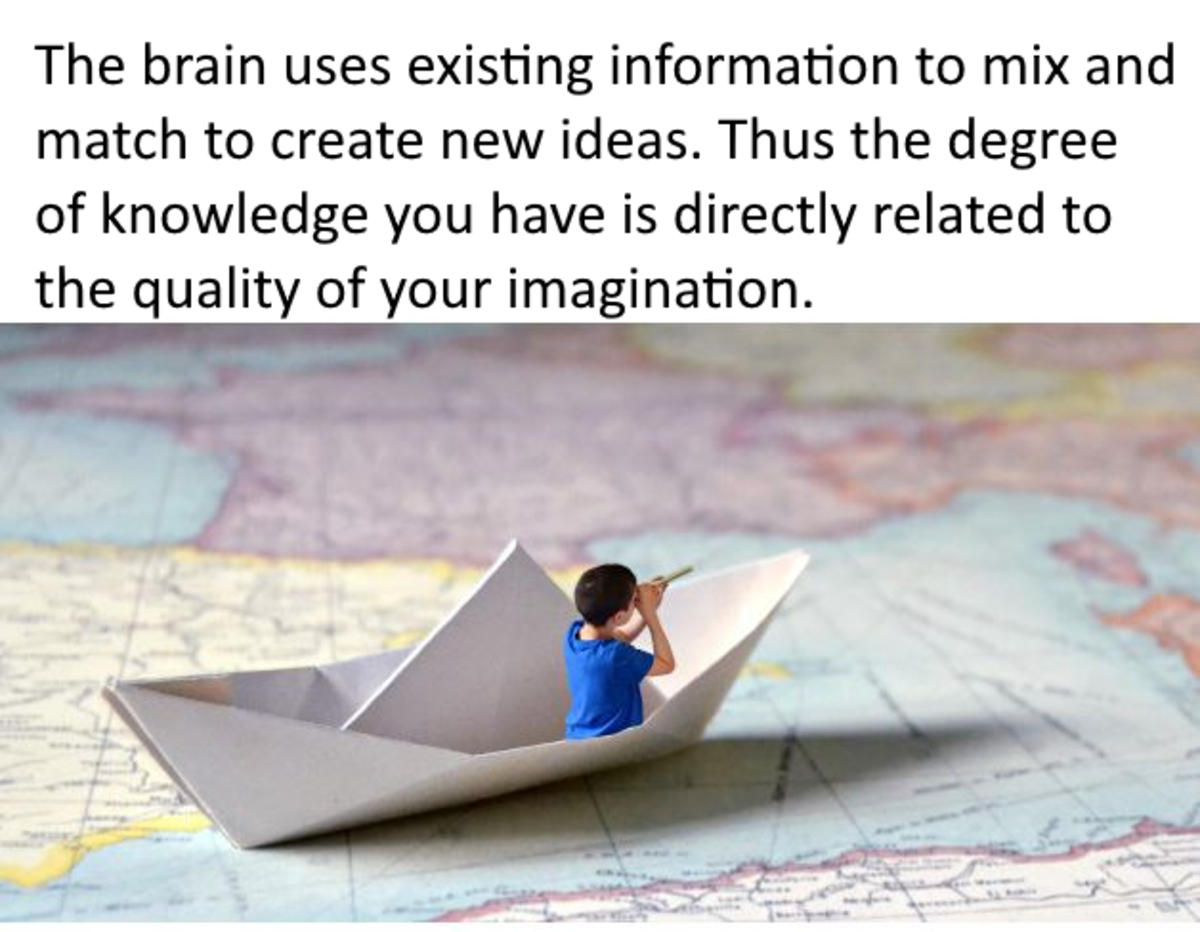 ...imagination is the product of a widespread network of neurons that consciously alters and manipulates images, symbols, and ideas...