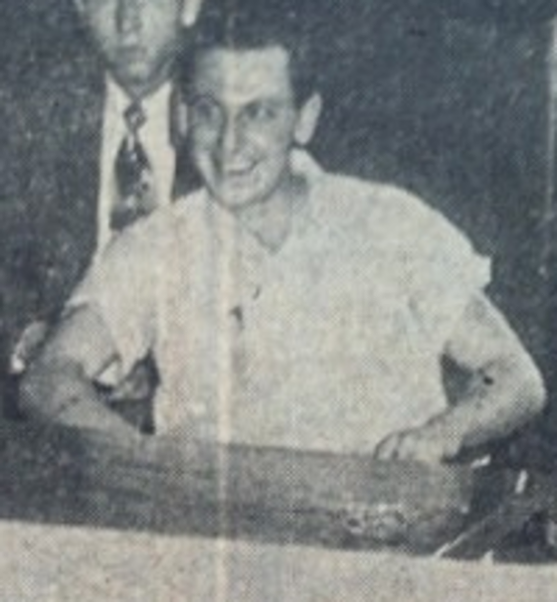 Billy Gibbs during his trial (1955)