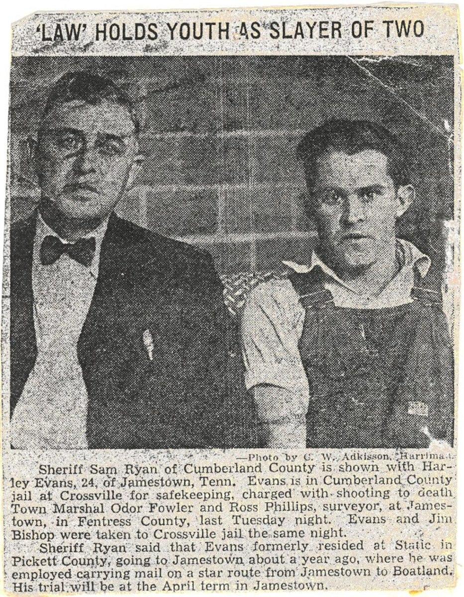 Harley Evans (right)