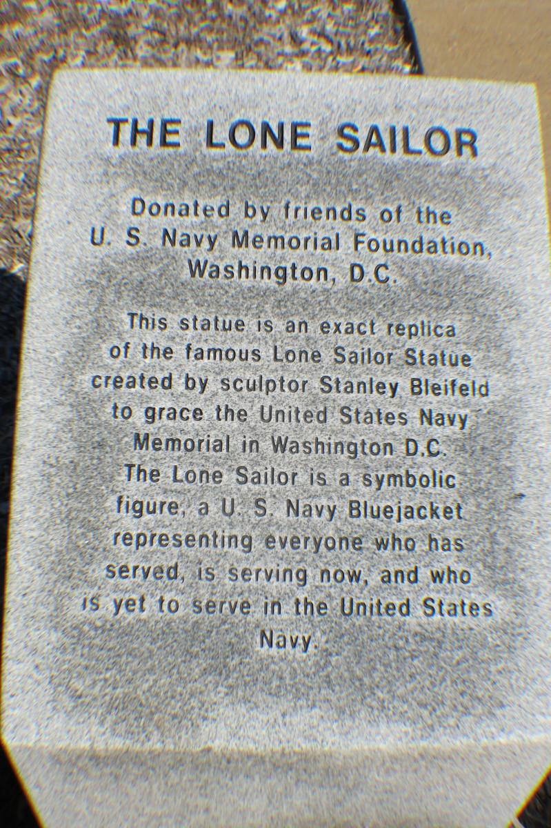 Lone Sailor - Norfolk, VA