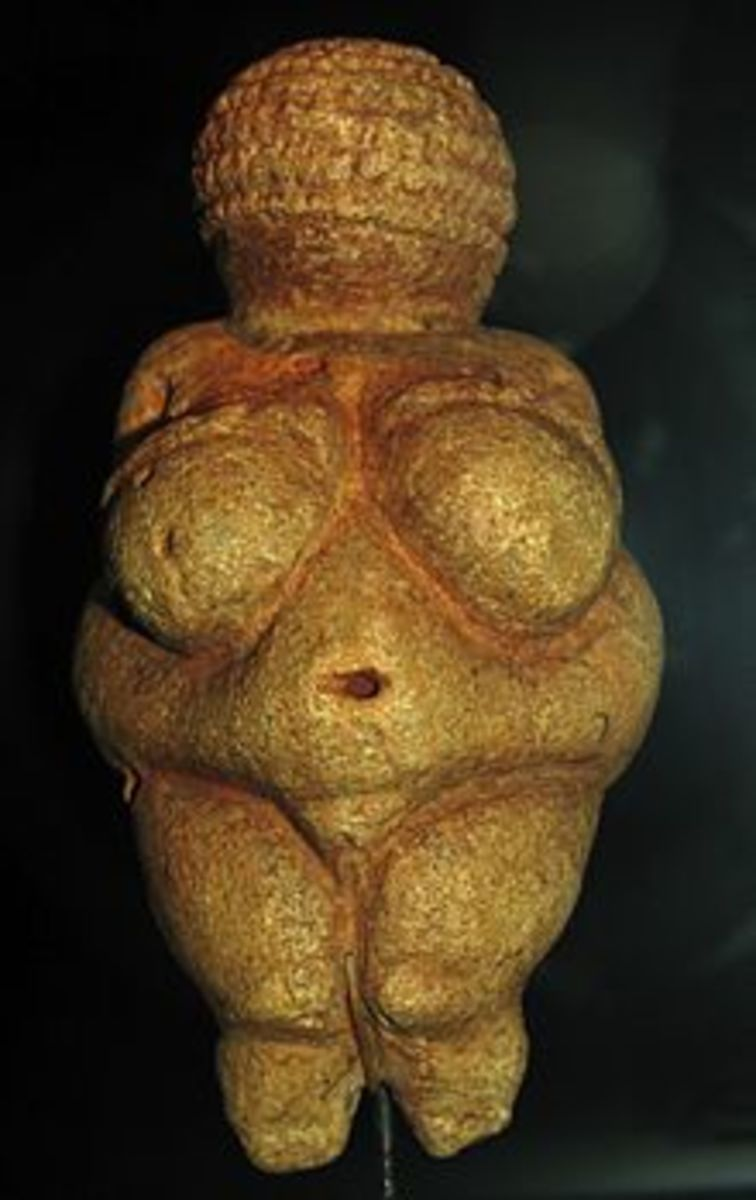 The goddess of Willendorf is one of many Venuses scene throughout history