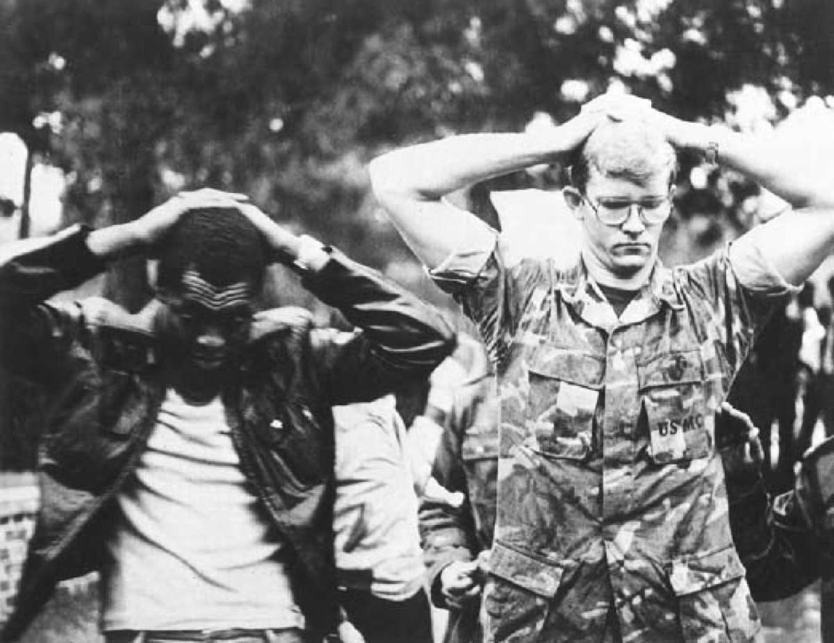 Two American hostages in Iran hostage crisis.