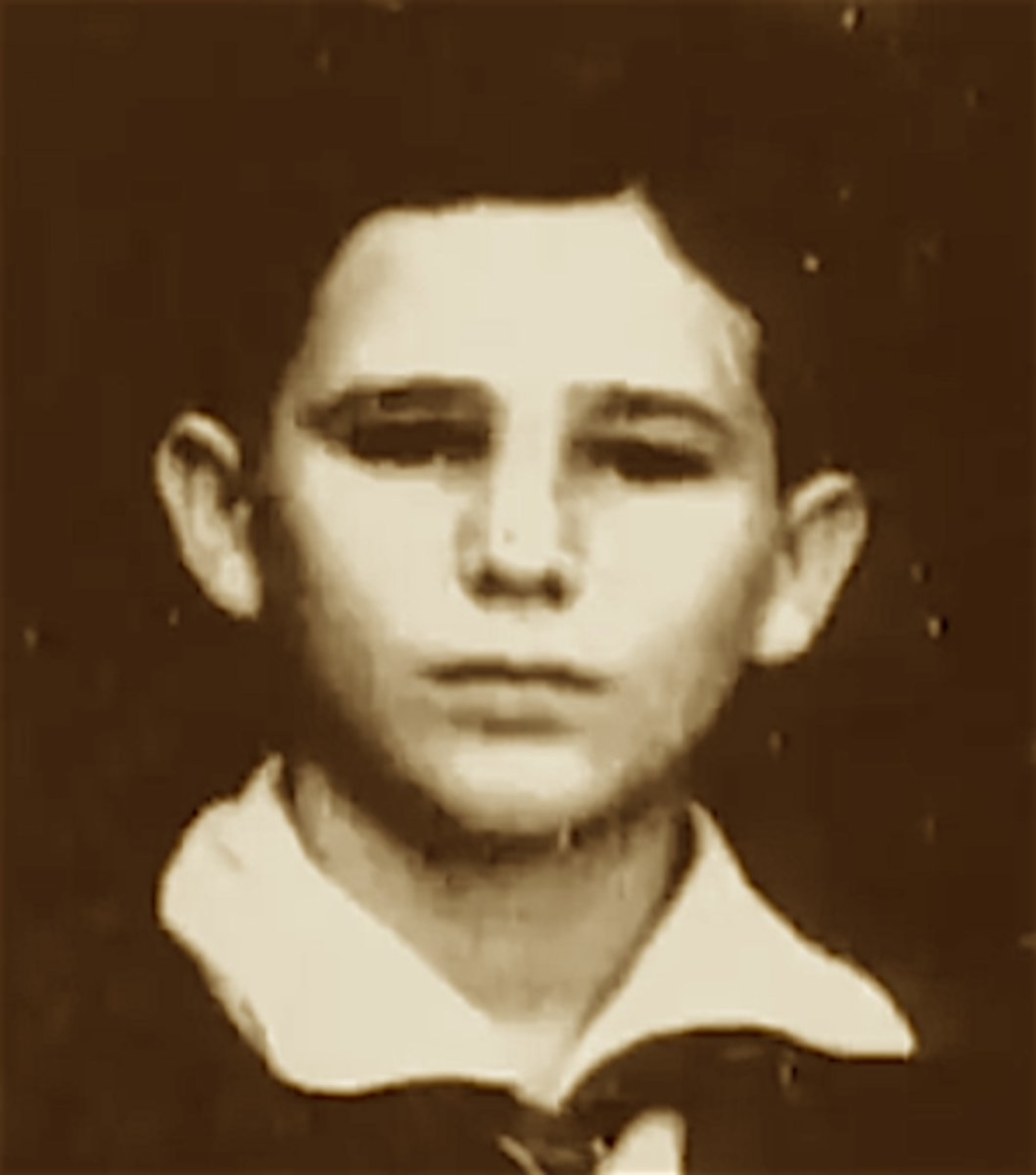 Fidel Castro as a young boy.  His death in 2016 ended one of the longest reigns of any world leader of his era.