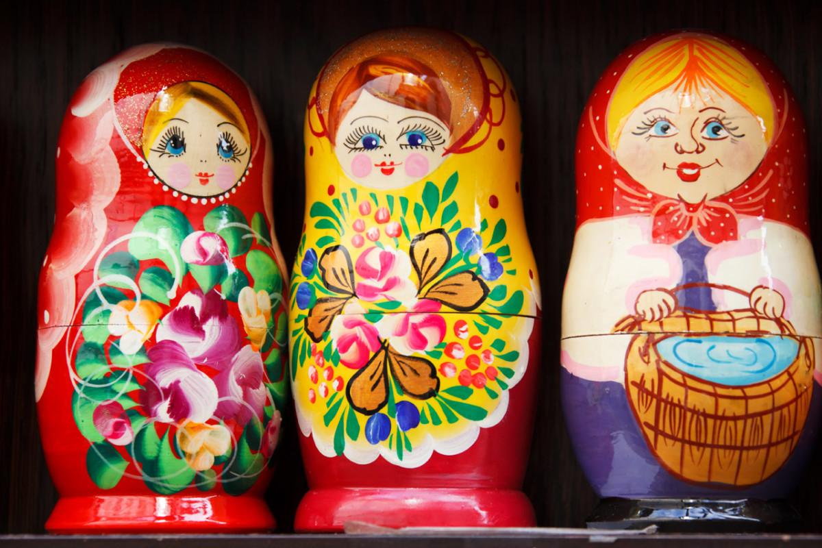 Group of Matryoshka dolls