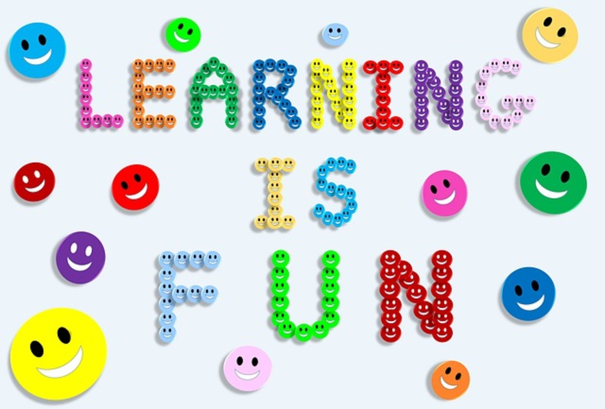 Children sometimes find learning monotonous. Make sure you make it fun for them at times, to prevent boredom.