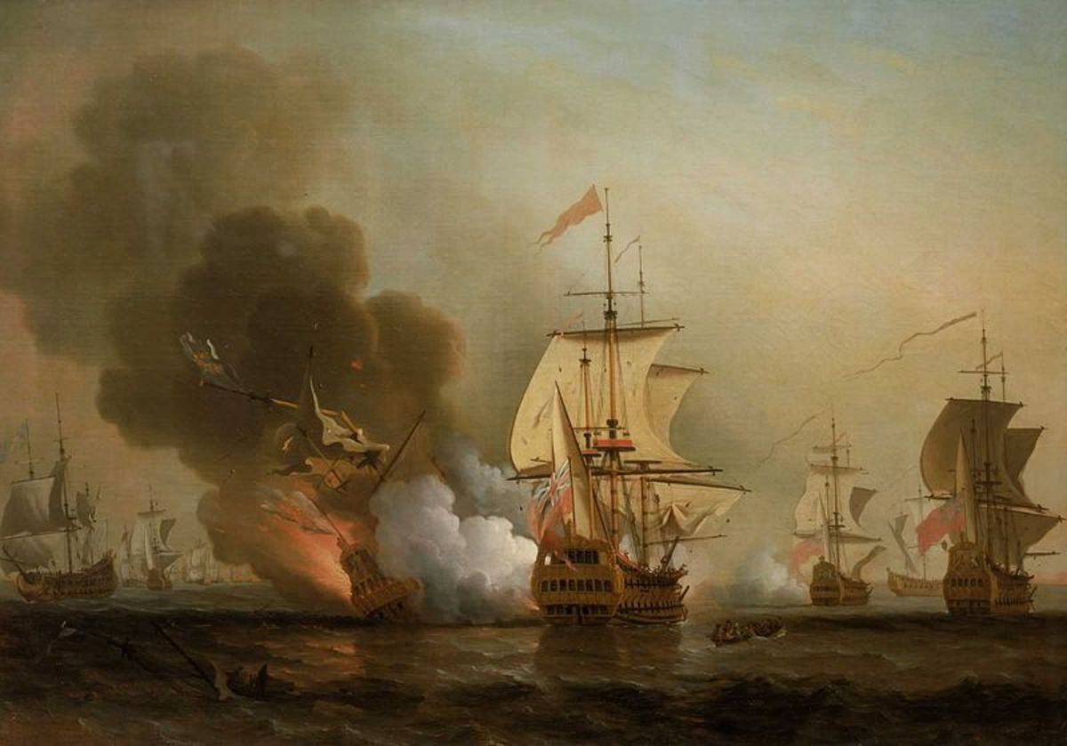 English privateers attack a Spanish fleet.