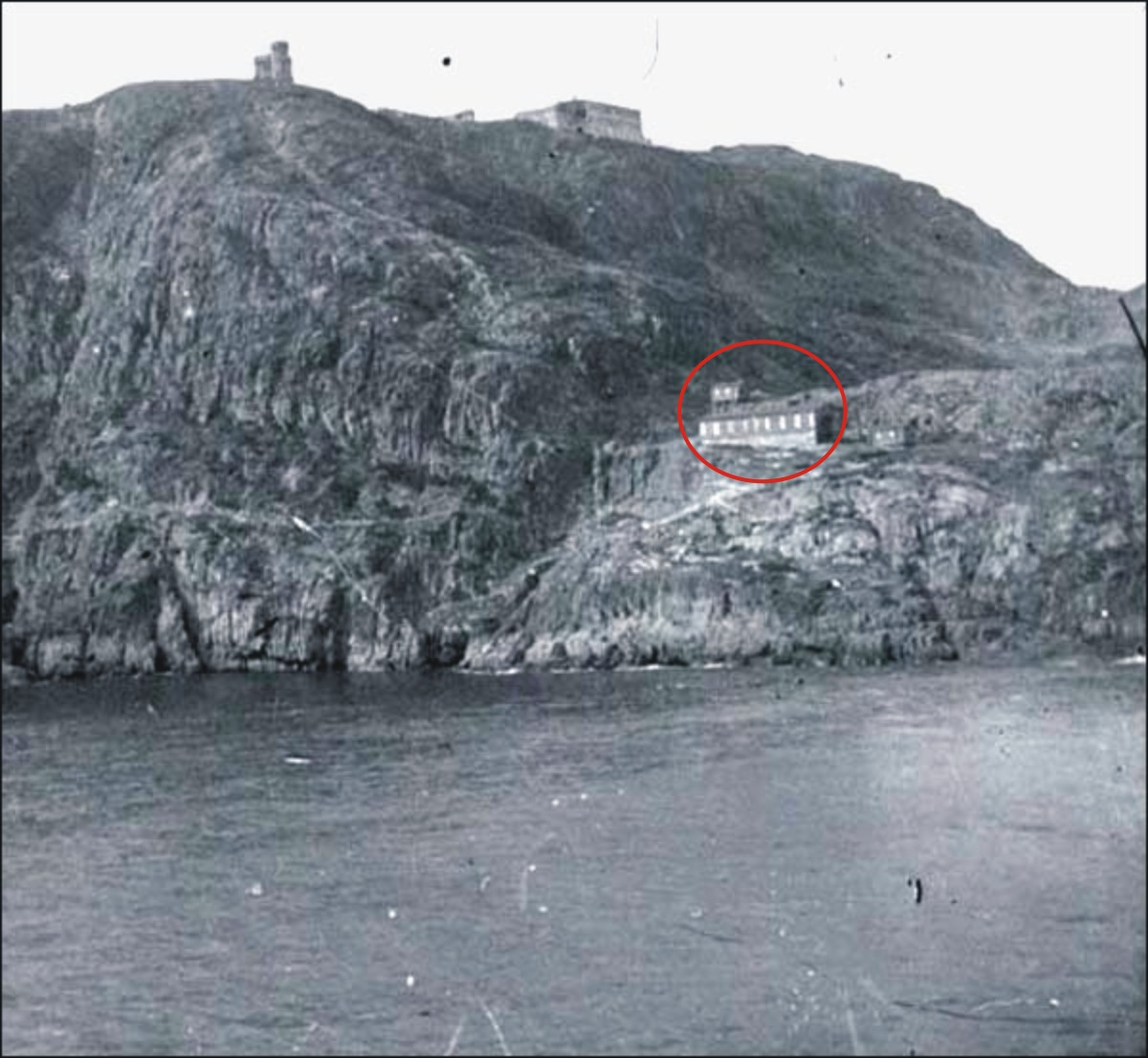 Abandoned TB isolation hospital on Signal Hill where Marconi had set up his receiver.