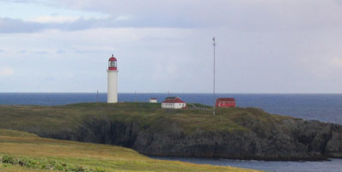 Marconi's wireless station at Cape Race, NL