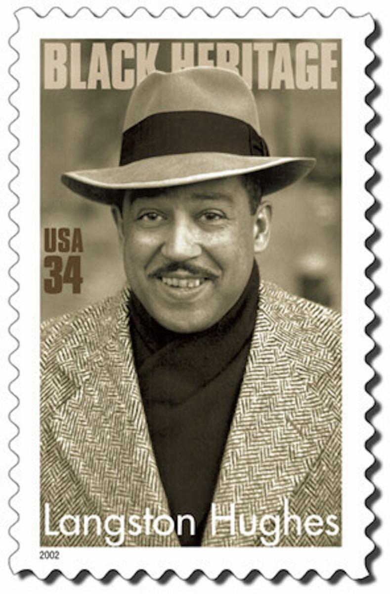 Langston Hughes Commemorative Stamp