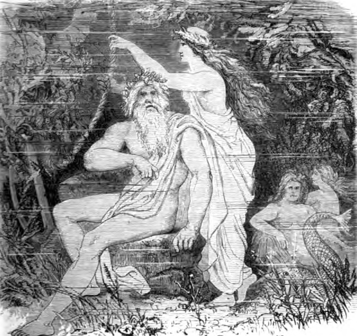 Aegir Father of the Nine Maidens