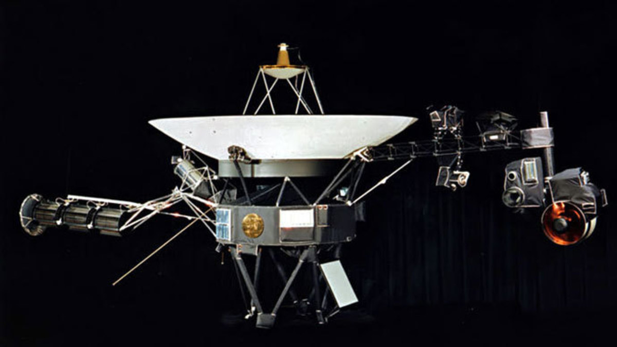 Voyager-1 had reached interstellar space 35 years after its 1977 launch.