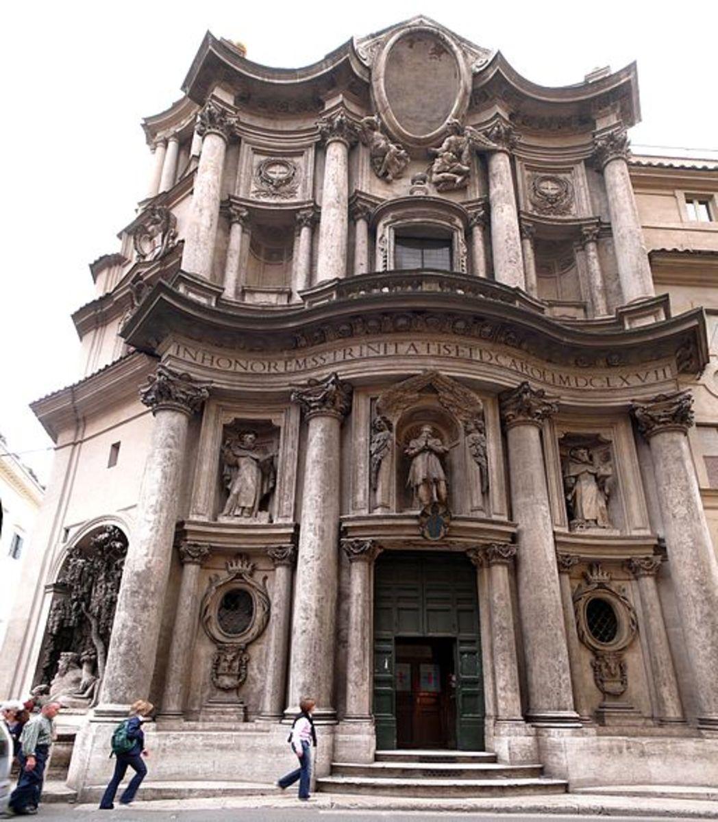 San Carlo alle Quattro Fontane, Rome