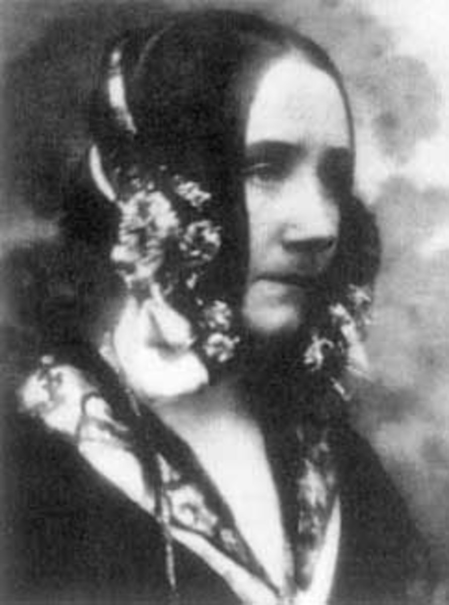 Ada Lovelace - Math, science, and computer programming pioneer.