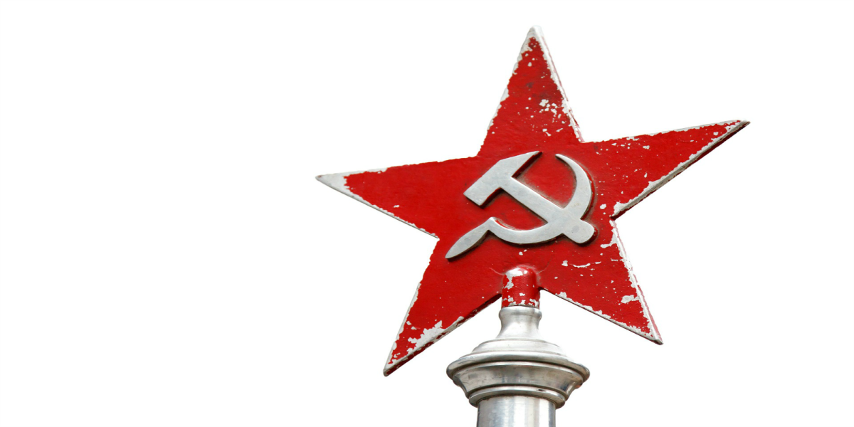 Symbols of communism often include the hammer to represent industrial labor and the sickle to represent peasants.