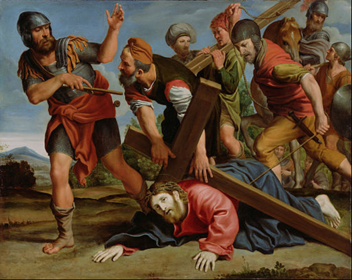The Way to Calvary, by Domenichino