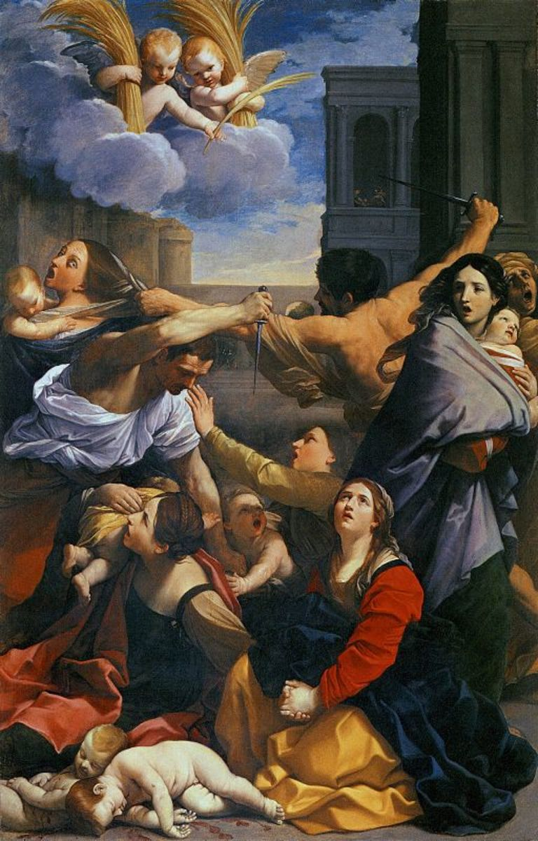 Massacre of the Innocents, by Guido Reni