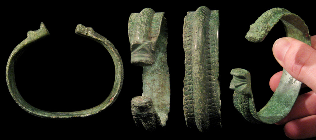 A Norse Torc which may have been used to swear oaths on.