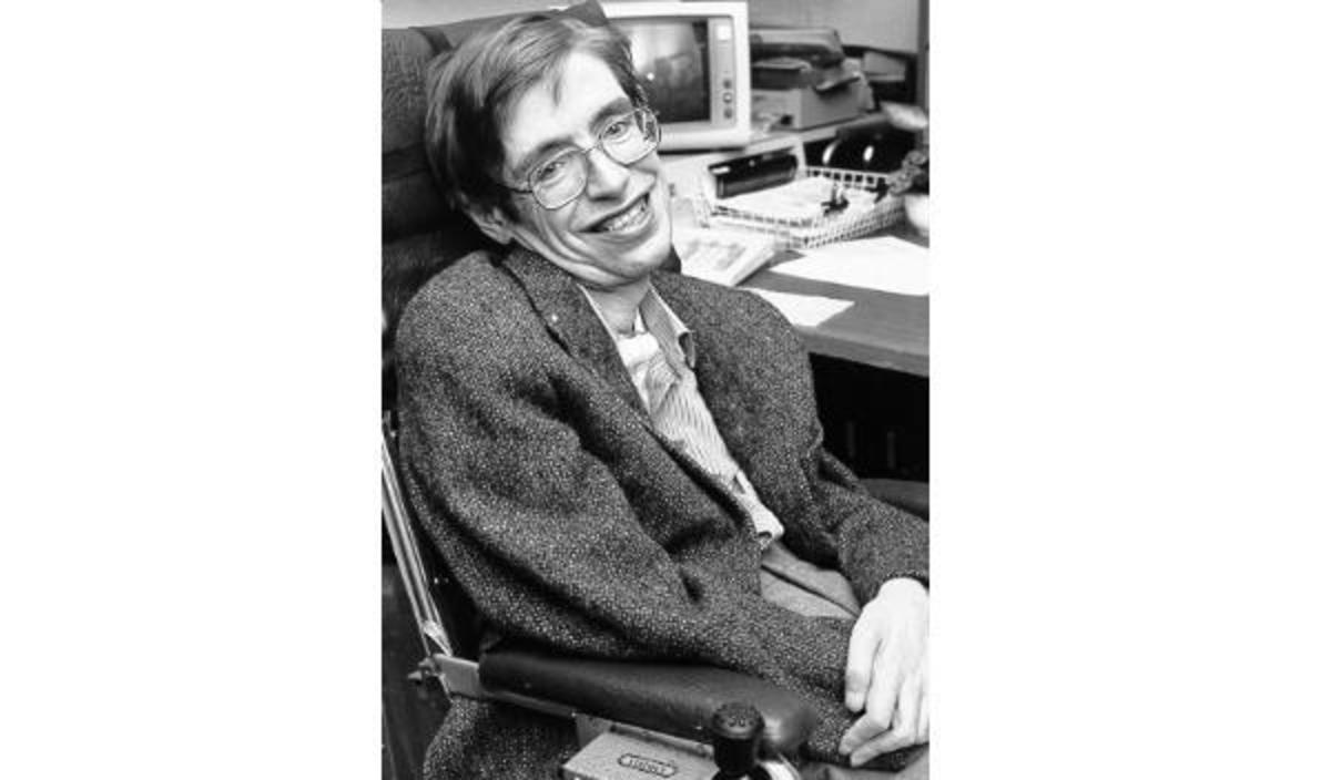 Stephen Hawking - Born January 8, 1942 in Oxford, United Kingdom