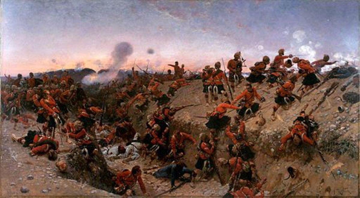 The Battle of Tel-el-Kebir