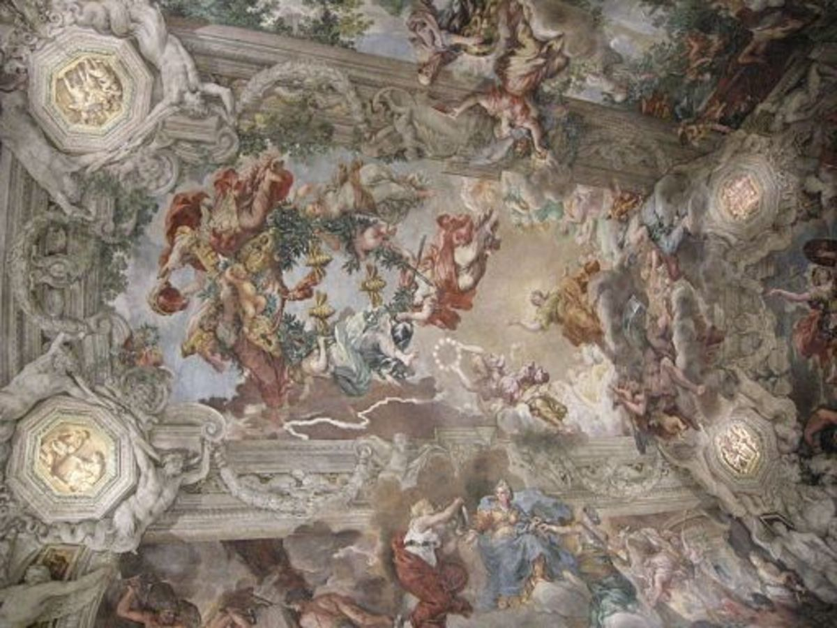 The Ceiling of the Palazzo Barberini