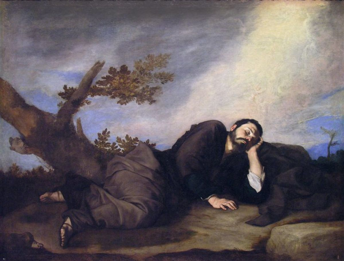 Jacob's Dream by Jose de Ribera (1591-1652)