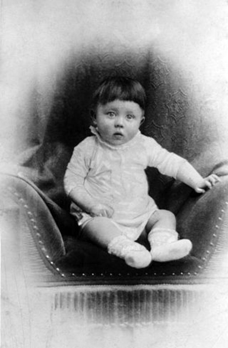 Infant Hitler.
