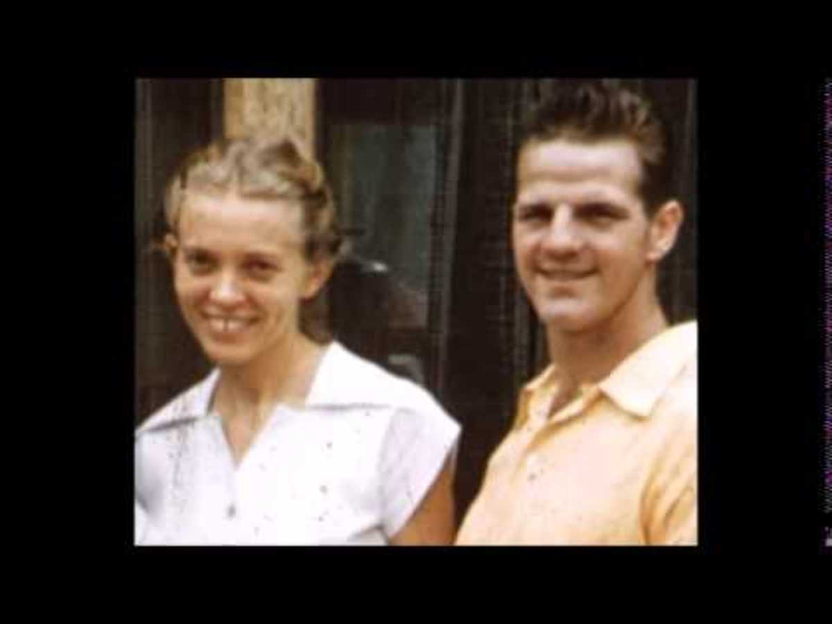 Elisabeth Elliot and her late husband, Jim Elliot