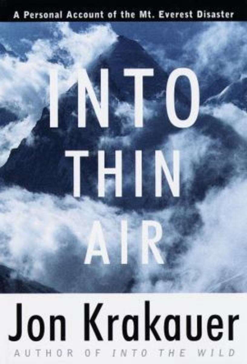 Into Thin Air: A Personal Account of the Mt. Everest Disaster by John Krakeuer