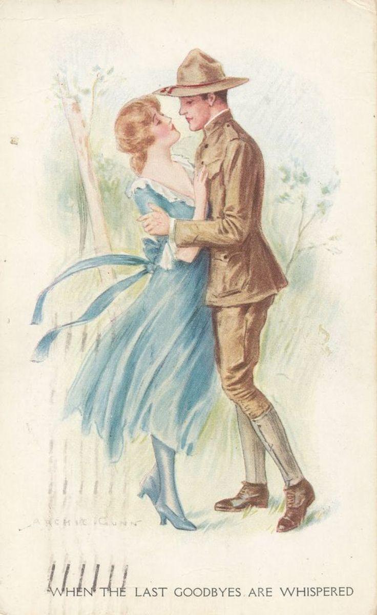 WWI Patriotic Postcards, Camp Dix New Jersey 1918