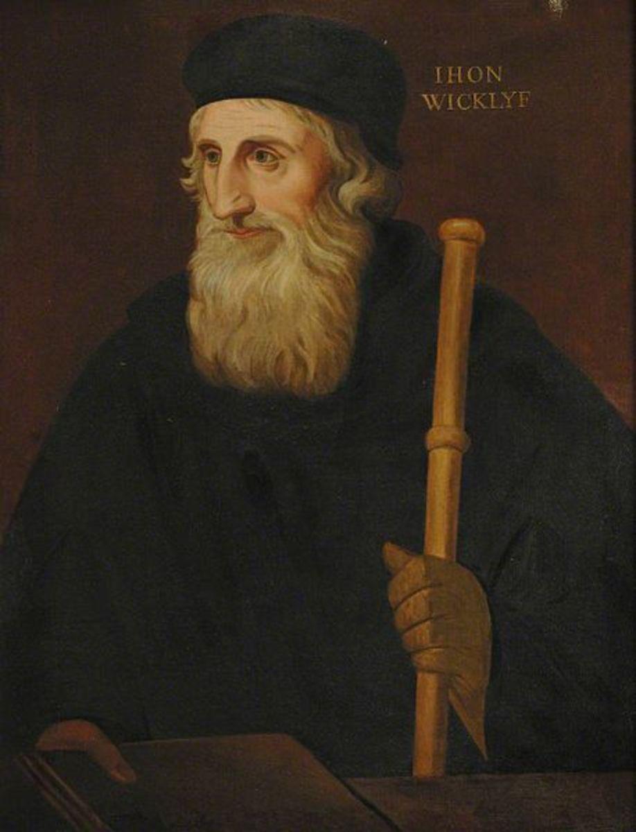John Wycliffe.