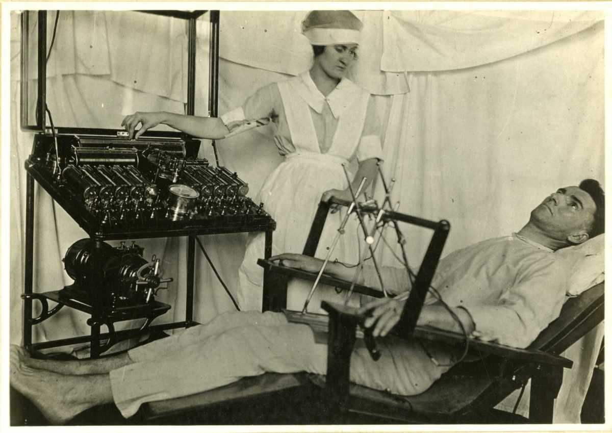 Electro-shock therapy was tried.