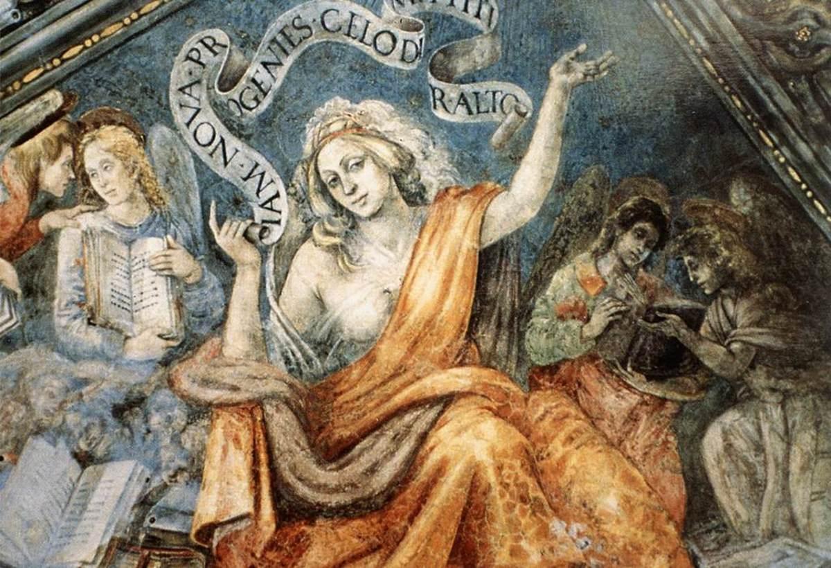 Depiction of Cumaean Sibyl
