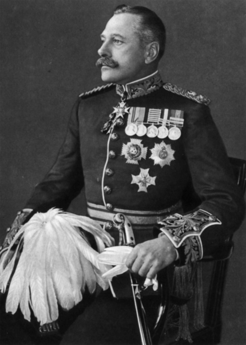 Field Marshal Sir Douglas Haig.
